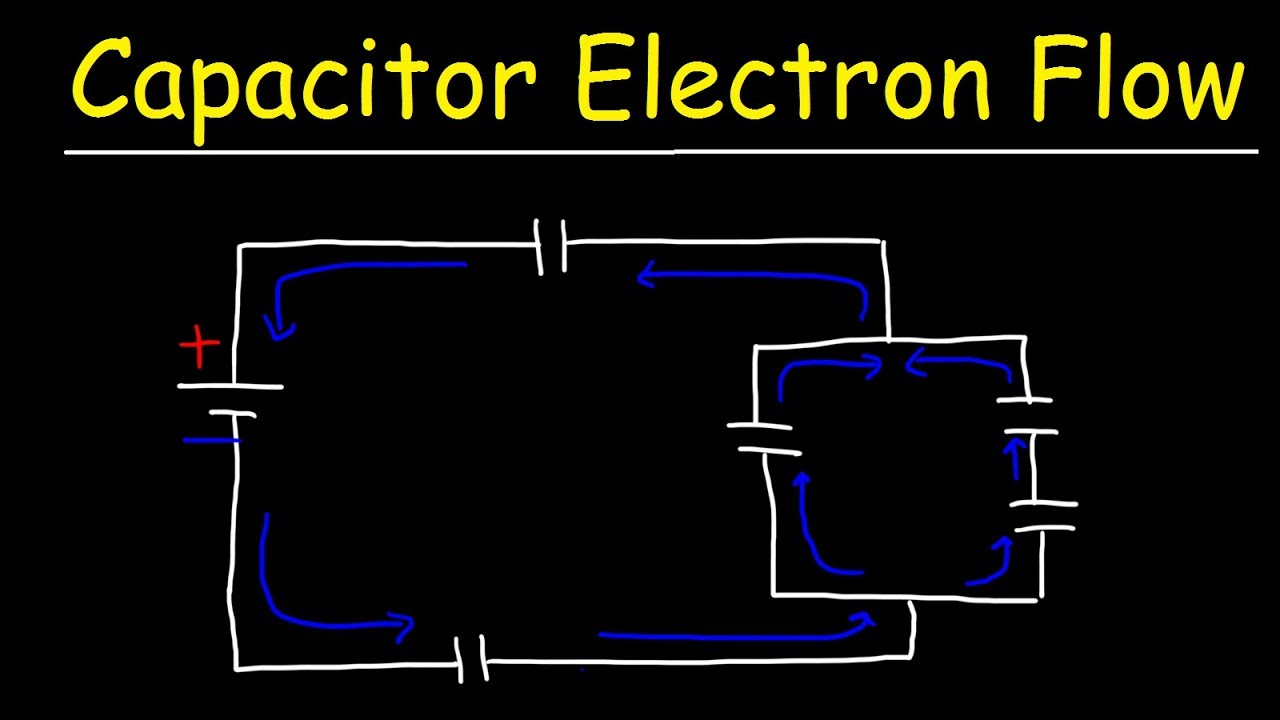 How To Make Capacitor Charging And Discharging Circuit Mp3 Download Circuitinteresting Electron Flow In Capacitors During Physics