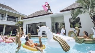 INSANE INFLATABLE ADVENTURE IN BALI