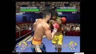 Knockout Kings 2003 GameCube Gameplay - Head shots are