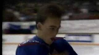 Matthew Hall 1988 Skate Canada SP