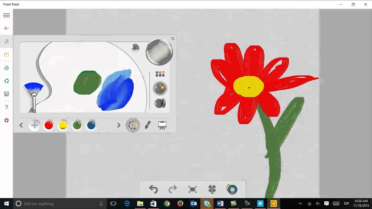 Fresh paint the drawing app for windows 10 youtube Simple drawing program for windows
