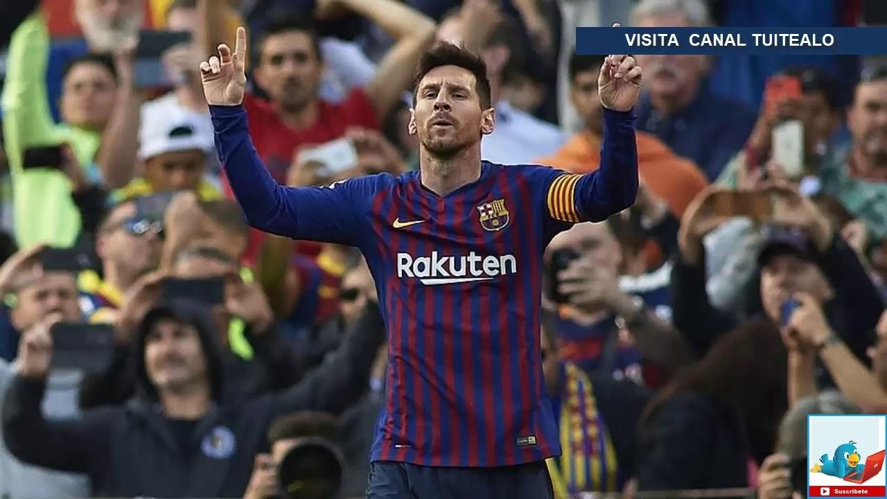 Con dos goles de Messi, Barcelona venci 2-0 al Espanyol por la ...
