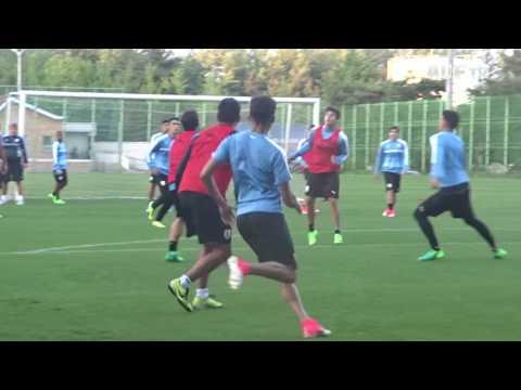 Sub-20 | Uruguay entrenó a un día del encuentro ante Sudáfrica