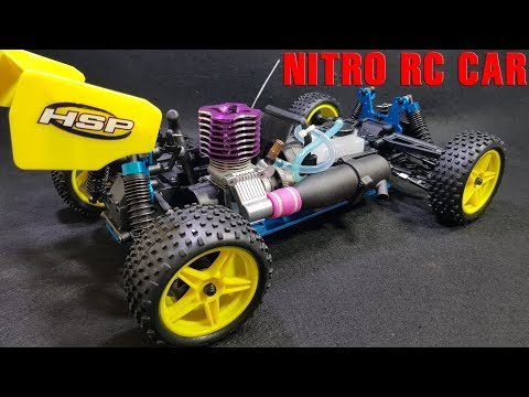 First Test and Review Nitro Gas RC Car