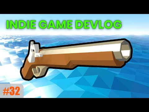 New Flintlock Pistol, Ranged Combat & Fixing Reconciliation | Unity Multiplayer Game Devlog #32