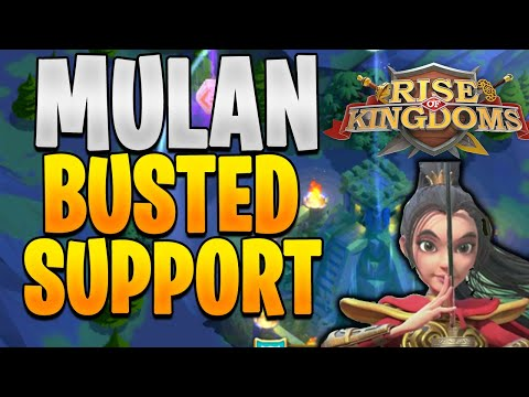 Mulan How to Properly Use Her in War | Rise of Kingdoms