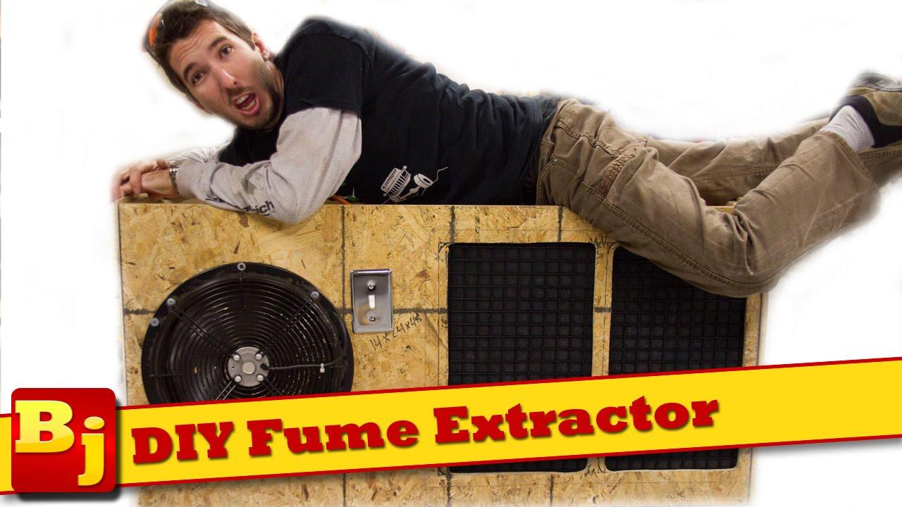 Diy Fume Extractor Youtube