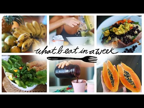 What I Eat In A Week // Food Diary #35