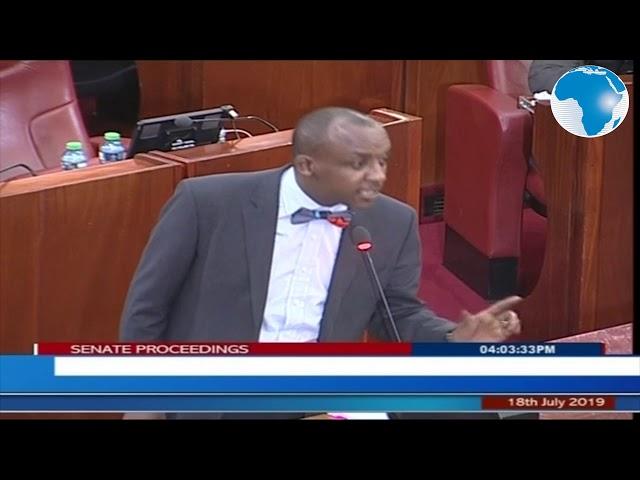 Senator Kilonzo on Senate-National Assembly war