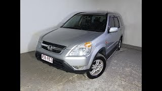 (SOLD) Automatic Cars 4×4 SUV Honda CR-V Sport 2002 Review