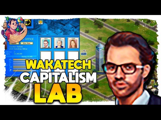 Montando a SEDE DA EMPRESA | Capitalism Lab Wakatech (2021) #06 - Gameplay PT BR