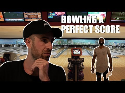 BOWLED A PERFECT GAME I VLOG 035 I DRAMA