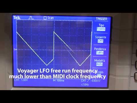 LFO Voyager to MS20
