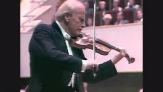 The Menuhin Century: Part 8 of 9 (Bach Sonata No. 3 in C Major BWV 1005)