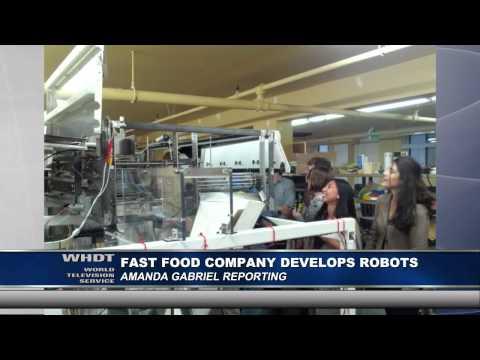 Fast Food Company Develops Robots