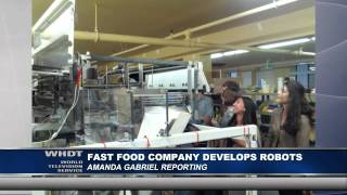 Fast Food Company Develops Robots