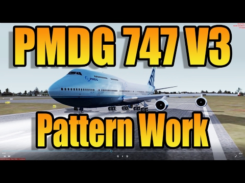 PMDG 747 V3 - HAND FLYING