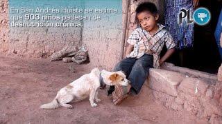 Desnutrición y pobreza agobian en Jacaltenango