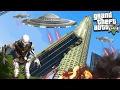 ALIENS HAVE INVADED GTA 5! (You Won't Believe This HELP!)