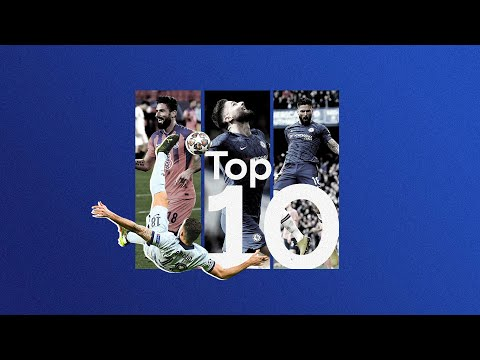 Thank You Olivier Giroud 💙   Top 10 Chelsea Goals