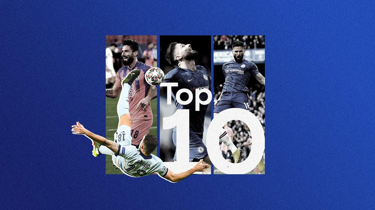 Download Thank You Olivier Giroud 💙   Top 10 Chelsea Goals