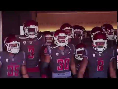 Washington State Cougar Football Highlights 2015