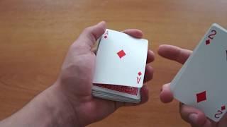 Карточные Трюки #2: Обучение трюкам с картами! Обучение новому контролю карты! Форсирование карты!