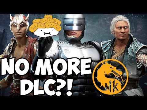 Mortal Kombat 11 NO MORE DLC AFTER AFTERMATH!?  