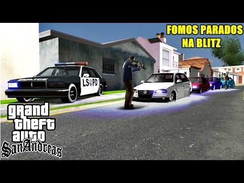 MTA SAN ANDREAS - FOMOS ABORDADOS NA BLITZ (DEU RUIM) 720p