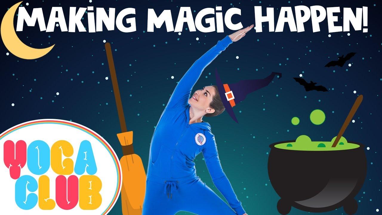 Making Magic Happen: Yoga Club (Week 7) | Cosmic Kids