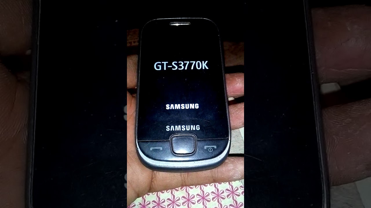 How to hard reset Samsung GT-S3770K  and software update
