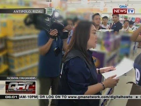 QRT: Pamunuan ng supermarket, pinagpapaliwanag ng DTI dahil sa paglabas umano sa price tag law