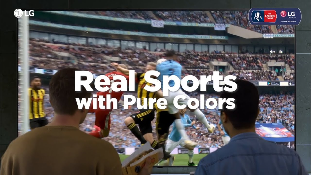 2020 LG NanoCell TV | Real Sports with Pure Colors