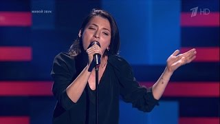 The Voice RU 2016 Inga — «Not About Angels» Blind Auditions | Голос 5. Инга Лепсверидзе. СП