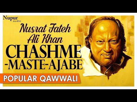 Nusrat Fateh Ali Khan Hit - Chashme Maste Ajabe - Pakistani Popular Qawwali Songs - Nupur Audio