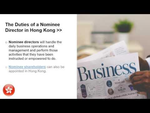 Nominee Directors in Hong Kong