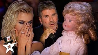 Download Judge Gets Possessed By Haunted Doll on America's Got Talent | Magicians Got Talent Mp3 and Videos