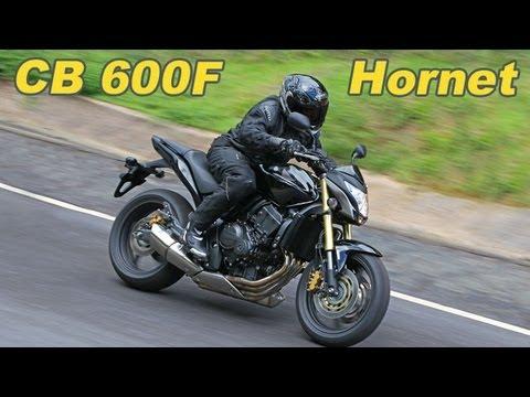 Teste Honda Cb 600 F Hornet 2012 Youtube