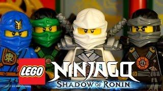 Лего Ниндзяго на русском языке 10 эпизод Детское видео смотреть лего ниндзяго мультик