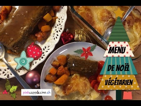 menu-de-noël-🎄-#végétarien-#vegan