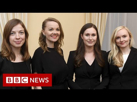 Inside Finland's female-led government - BBC News