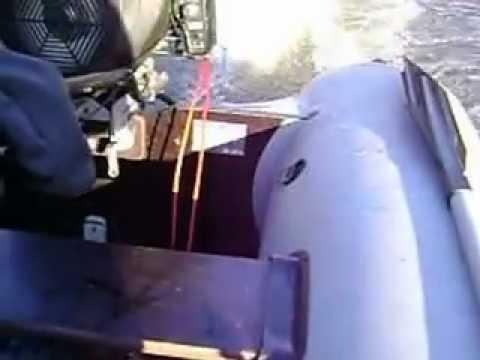 видео испытание на воде лодочных моторов