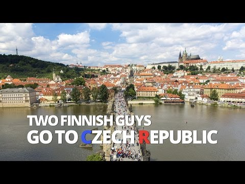 Two Finnish Guys Go to Czech Republic