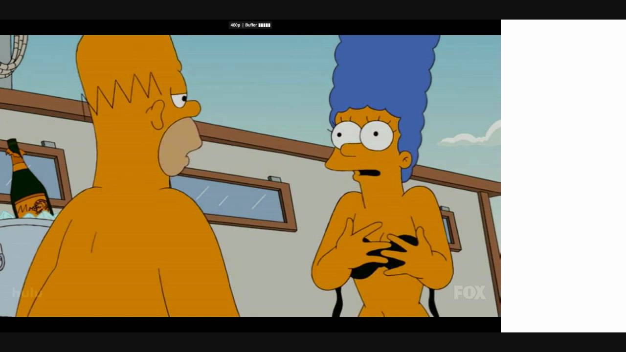 Bart and lisa sexy scene