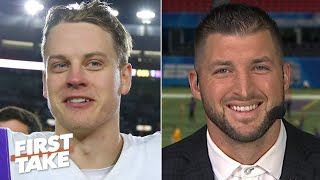 Tim Tebow predicts LSU and Clemson will play in the National Championship Game | First Take