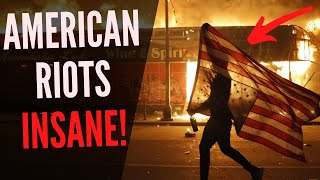Crazy American Riot Footage Minneapolis, Minnesota after George Floyd Protests (WARNING: VIOLENT)