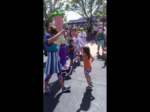 Adelaide Dancing With Ferb