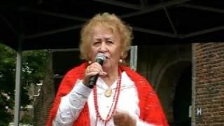 De Parel van de Jordaan mevr Ans Tuin op Meppel dag Mokum dag