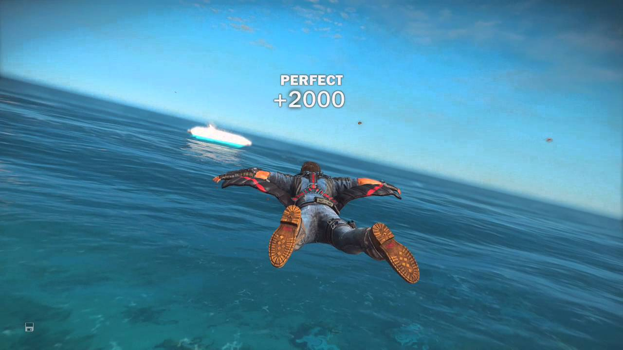 Just Cause 3 - Wing Suit Gliding - YouTube