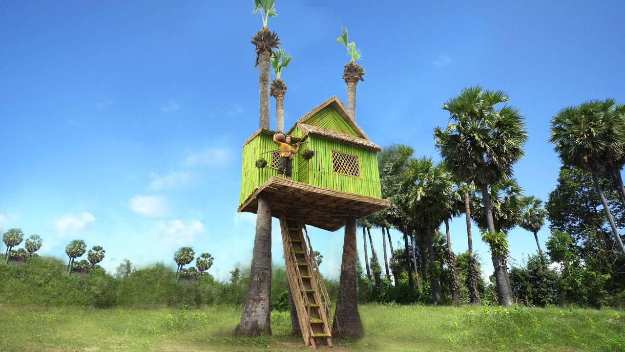 Incredible Build The Best In Real Life Beautiful Tree House Villa